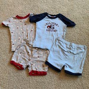 Boys shorts set pajamas